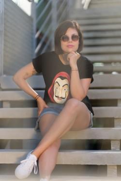 PROFESOR - czarny t-shirt