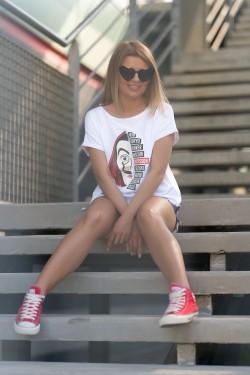 RIO - biały t-shirt
