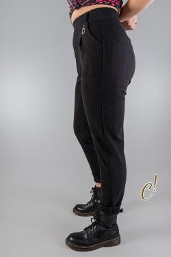 ZOE II - czarne spodnie...