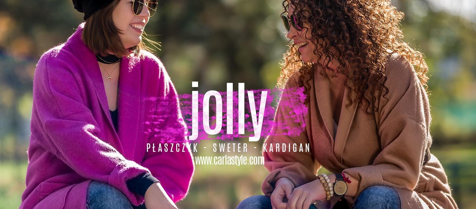 jolly | Płaszczy - Sweterek - Kardigan | CarlaStyle.com